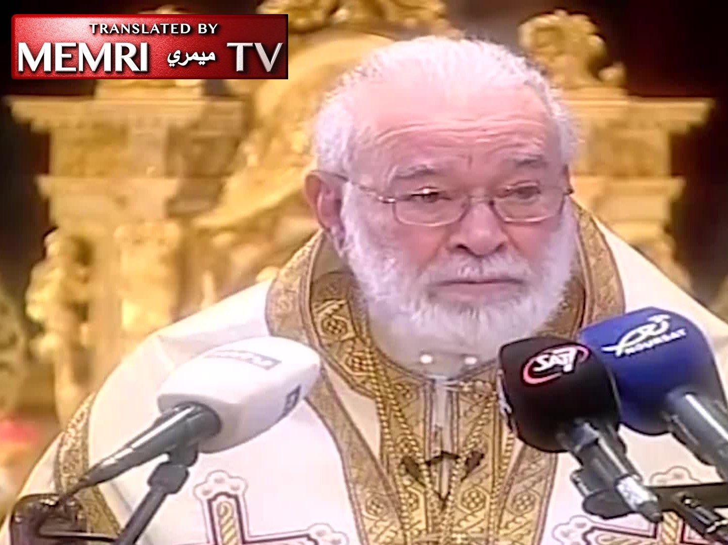 Greek Orthodox Archbishop of Beirut Elias Audi Criticizes Nasrallah: One Man Is Ruling Our Country and Nobody Says Anything